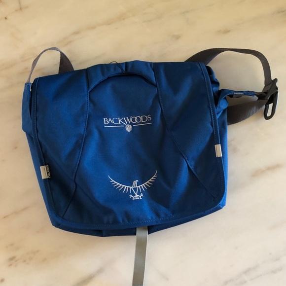 OSPREY Flapjill Courier Crossbody Messenger Day Bag Commuter Shoulder Bag NEW